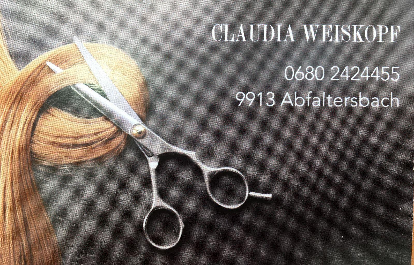 Visitenkarte Claudia Weißkopf
